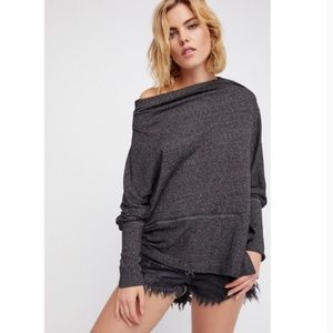We The Free Londontown ThermalOff The Shoulder Top